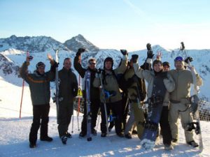 Sunshine World Trainee Instructors enjoying Skiing in Zakopane, Poland